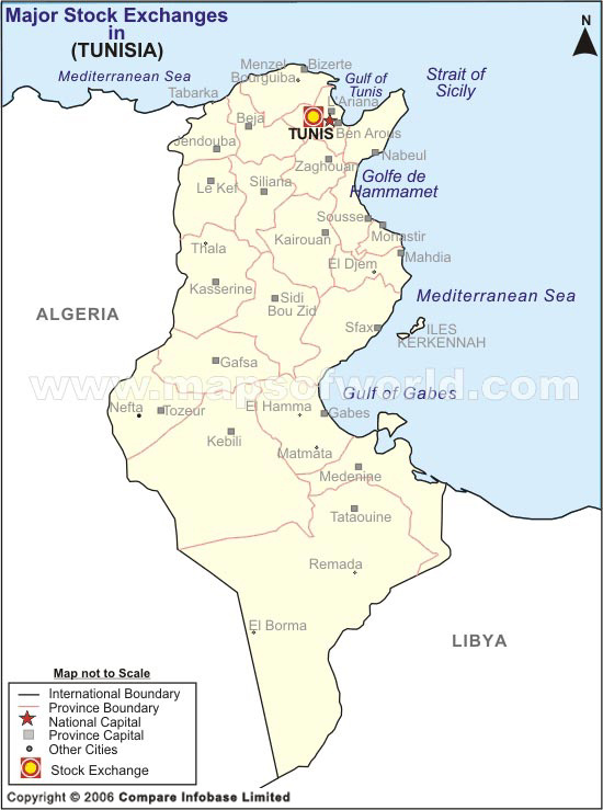 Map of Tunisia GeoPoll