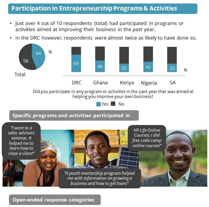 African Entrepreneurship Survey - GeoPoll
