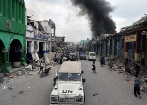 Haiti Earthquake UN Relief