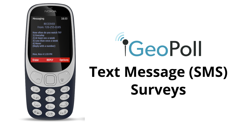 Text Message and SMS Surveys in Emerging Markets