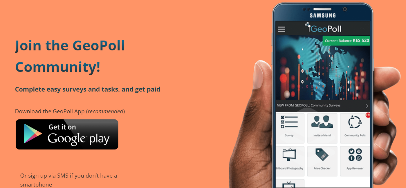 Download the GeoPoll App - GeoPoll