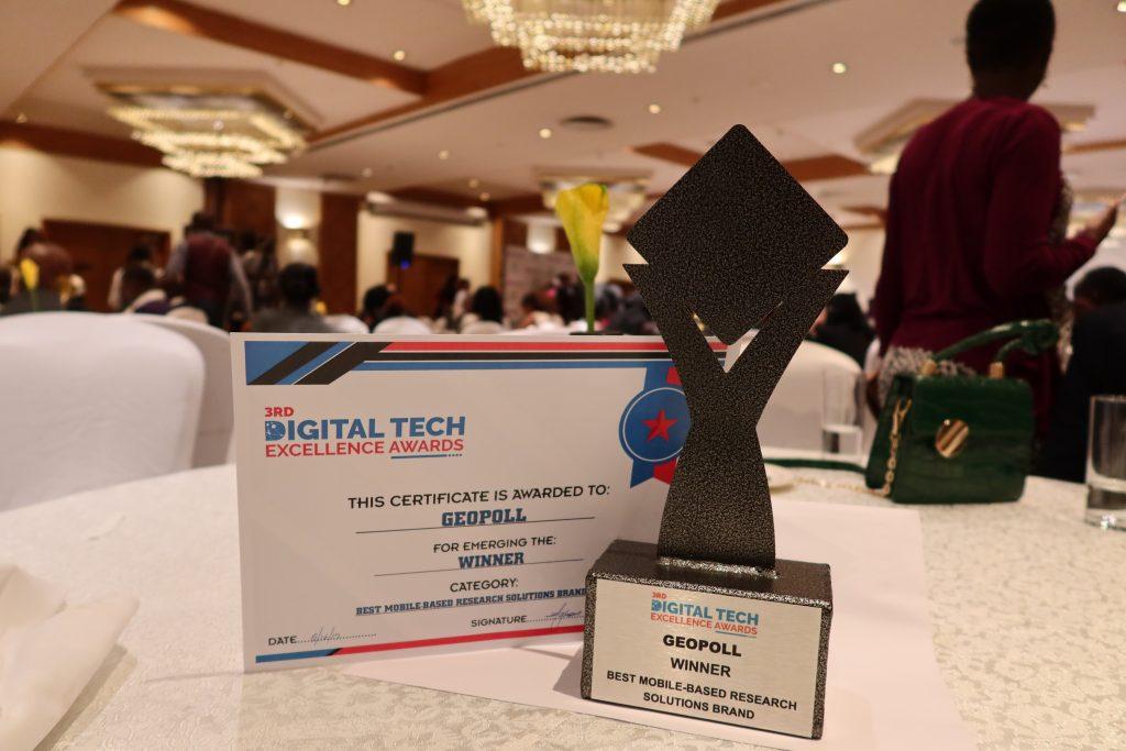 GeoPoll Digital Excellence Award