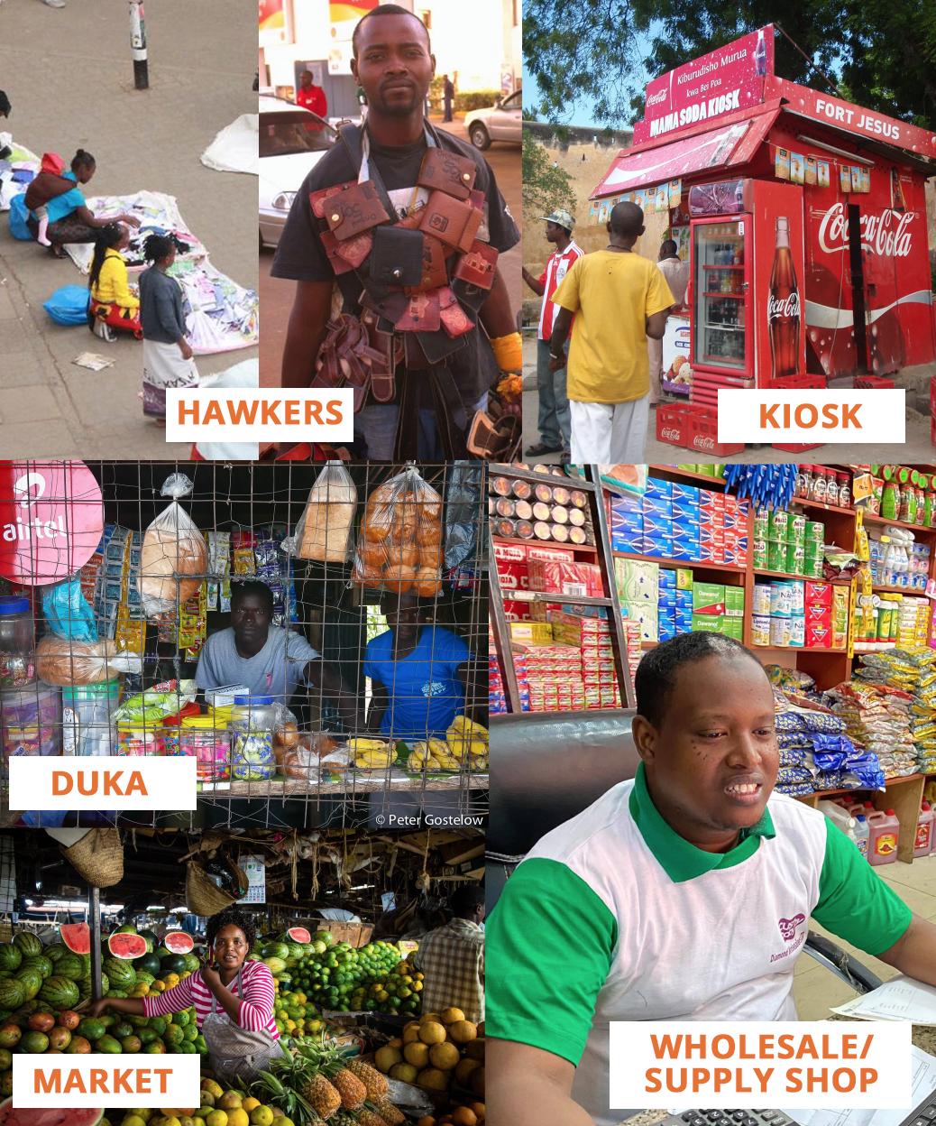 informal-retail-locations Kenya FMCG