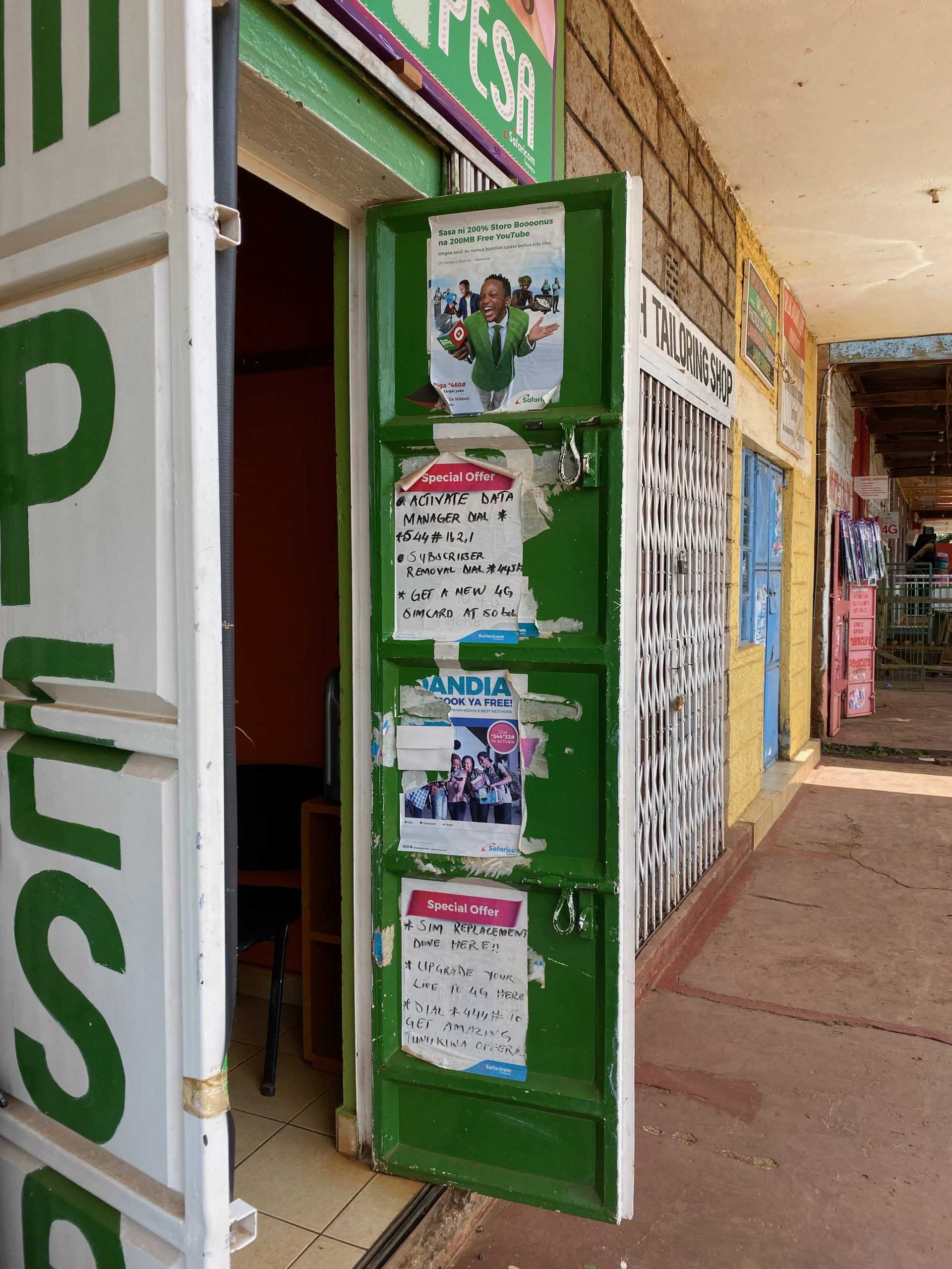 Mobile Money Kiosk COVID