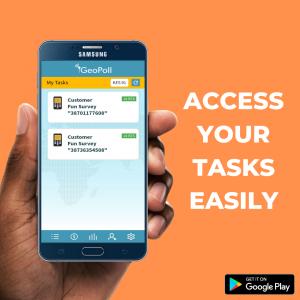 geopoll app tasks