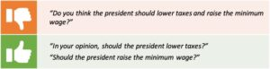 Do you think the president should lower taxes and raise the minimum wage? In your opinion, should the president lower taxes? Should the president raise the minimum wage?